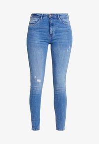ONLY - ONLPAOLA HIGHWAIST - Jeans Skinny Fit - light blue denim - 3