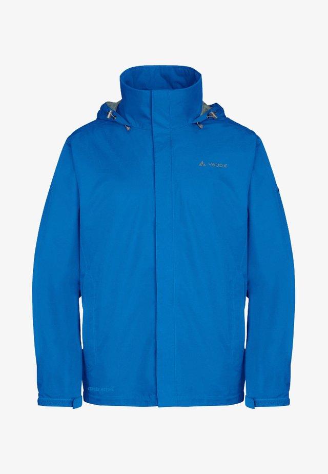 MENS ESCAPE LIGHT JACKET - Waterproof jacket - radiate blue