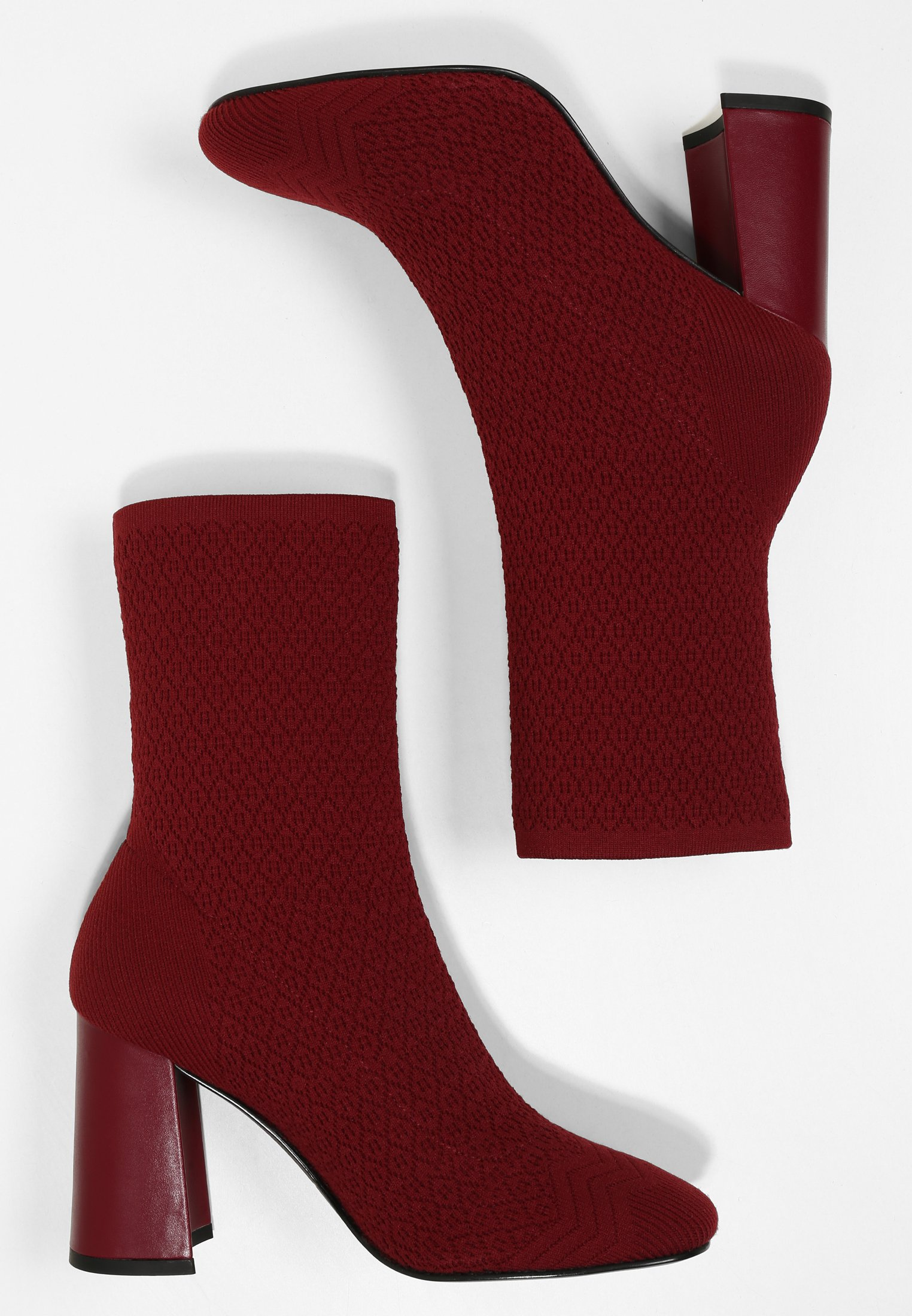 What For PORTA High Heel Stiefelette weinrot/bordeaux