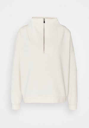 VMLYDIA ZIP TALL - Sweatshirt - birch