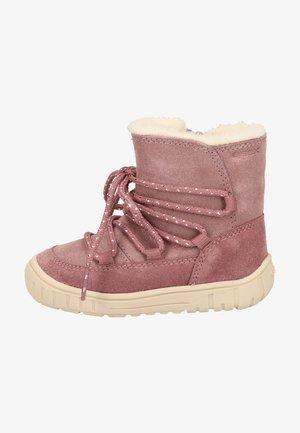 Baby shoes - rose smoke c8025