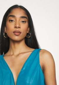 WAL G. - PLEATED SKATER DRESS - Day dress - teal blue - 3