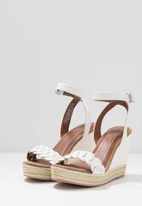 Anna Field - Korolliset sandaalit - white - 4