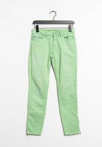Esprit - Slim fit jeans - green - 0