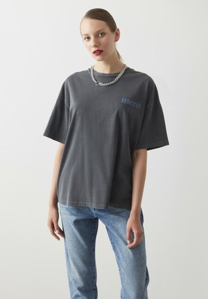 CASUAL TOPS CLASSIC CUT - T-shirt print - anthracite