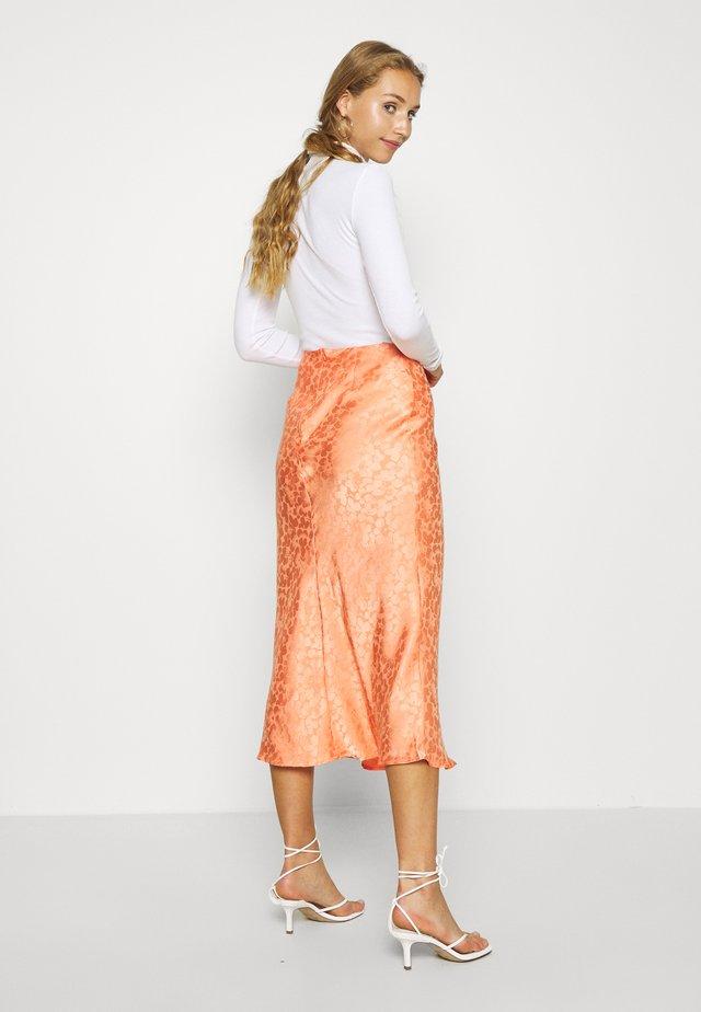 PALOMA MIDI SKIRT - A-line skirt - orange