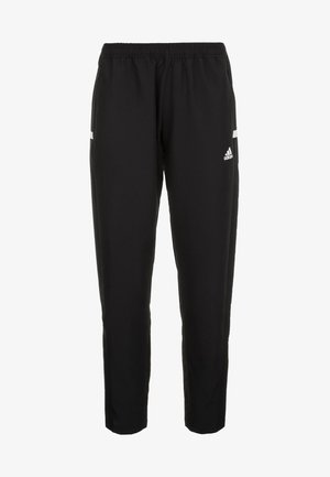 TEAM WOVEN AEROREADY FOOTBALL PANTS - Artykuły klubowe - black/white