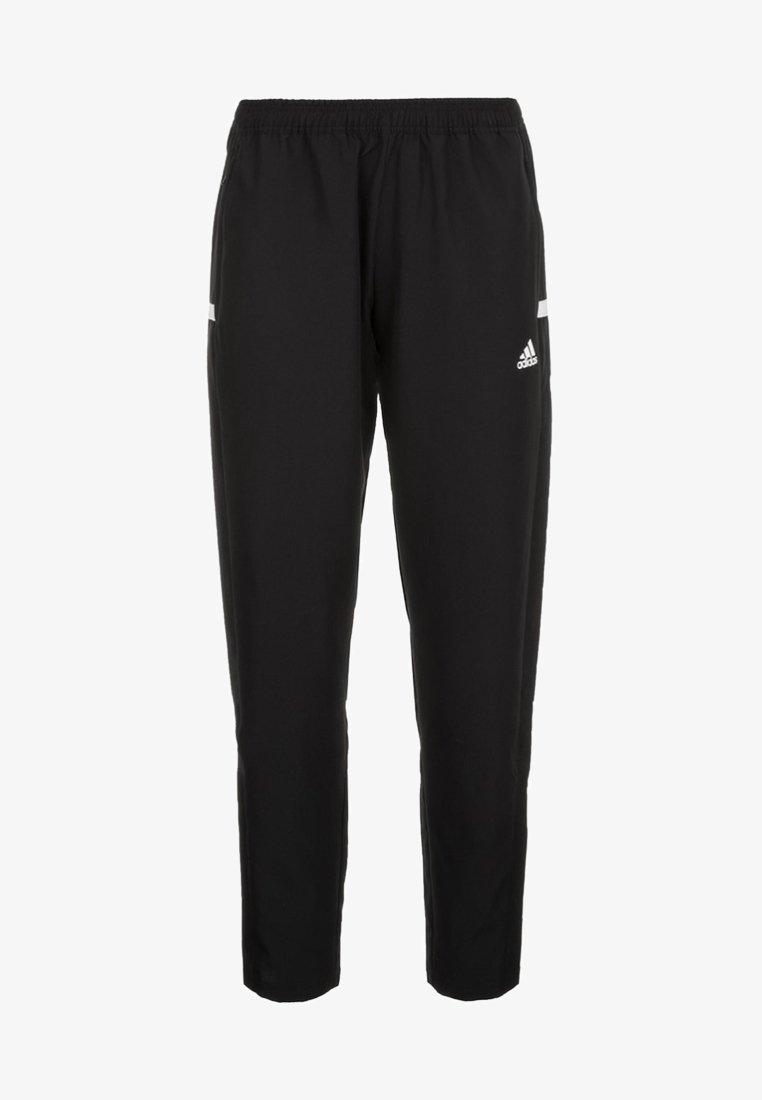 adidas Performance - TEAM WOVEN AEROREADY FOOTBALL PANTS - Artykuły klubowe - black/white