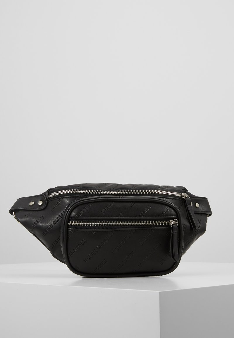 Urban Classics - SHOULDER BAG - Ledvinka - black