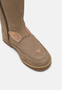 Friboo - LEATHER - Boots - taupe - 6