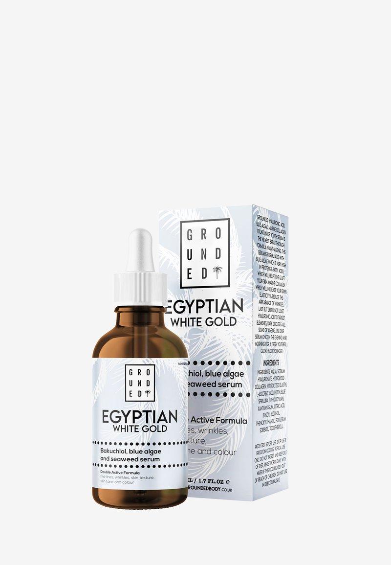Grounded - EGYPTIAN GOLD WHITE - Serum - white