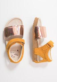 Shoesme - BIO - Sandals - mirror/ochre - 0