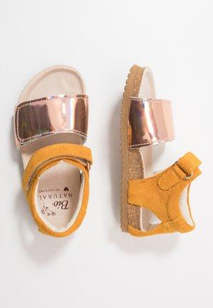 BIO - Sandals - mirror/ochre