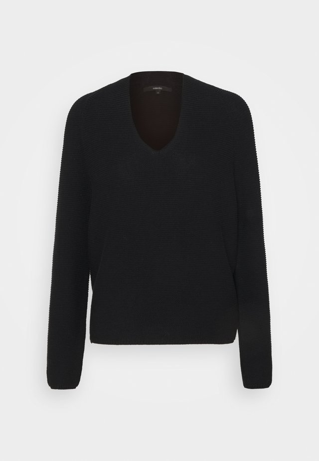 TANSU - Sweter - black