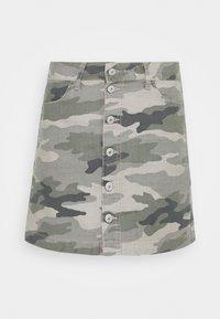 American Eagle - ALINE SKIRT - Mini skirt - olive - 3