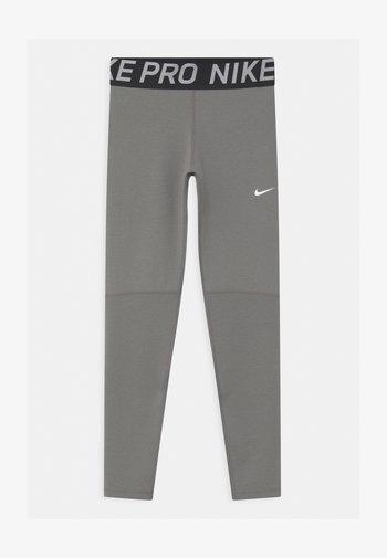 Leggings - carbon heather/white