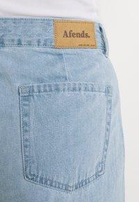 Afends - KENDALL - Široké džíny - stone blue - 5