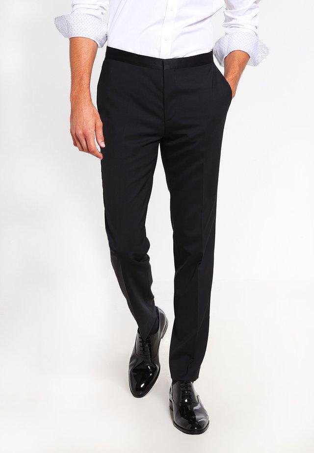 HETON - Pantaloni - black