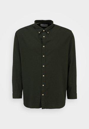 SLHSLIM - Shirt - darkest spruce melange