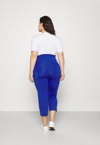 Lauren Ralph Lauren Woman - VARLYN SKINNY PANT - Shorts - sapphire star - 2