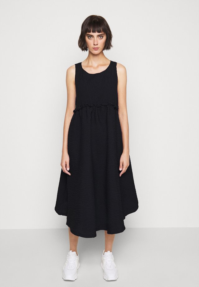 FLING DRESS - Korte jurk - black