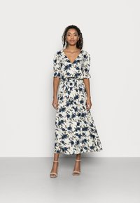 VILA PETITE - VIEFIE  DRESS PETITE - Maxi dress - birch/flowers - 0