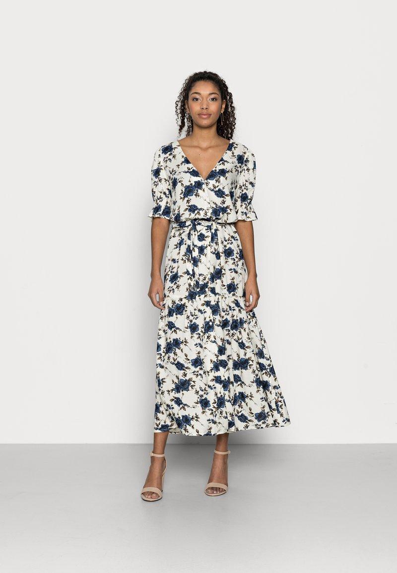 VILA PETITE - VIEFIE  DRESS PETITE - Maxi dress - birch/flowers
