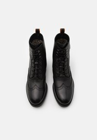 Scotch & Soda - NATRON - Šněrovací kotníkové boty - black - 3