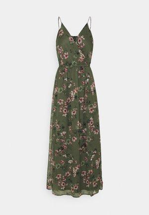 VMWONDA WRAP DRESS - Maxi dress - kalamata
