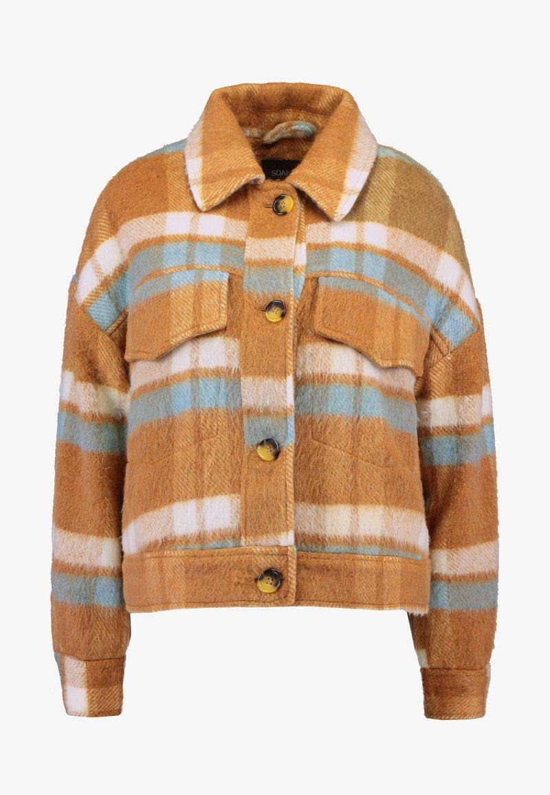 Soaked in Luxury Rosemary Jacket Lett Jakke Dame Brown