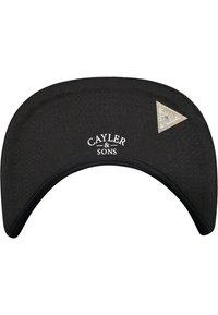 Cayler & Sons - Cap - black/white - 3