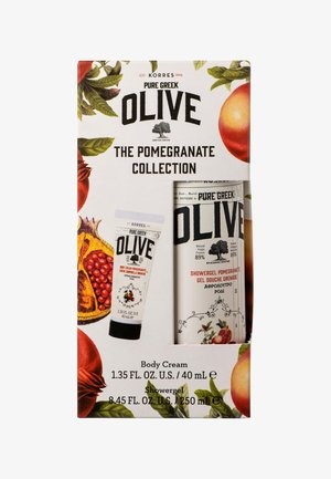 THE OLIVE & POMEGRANATE COLLECTION - Bath and body set - -