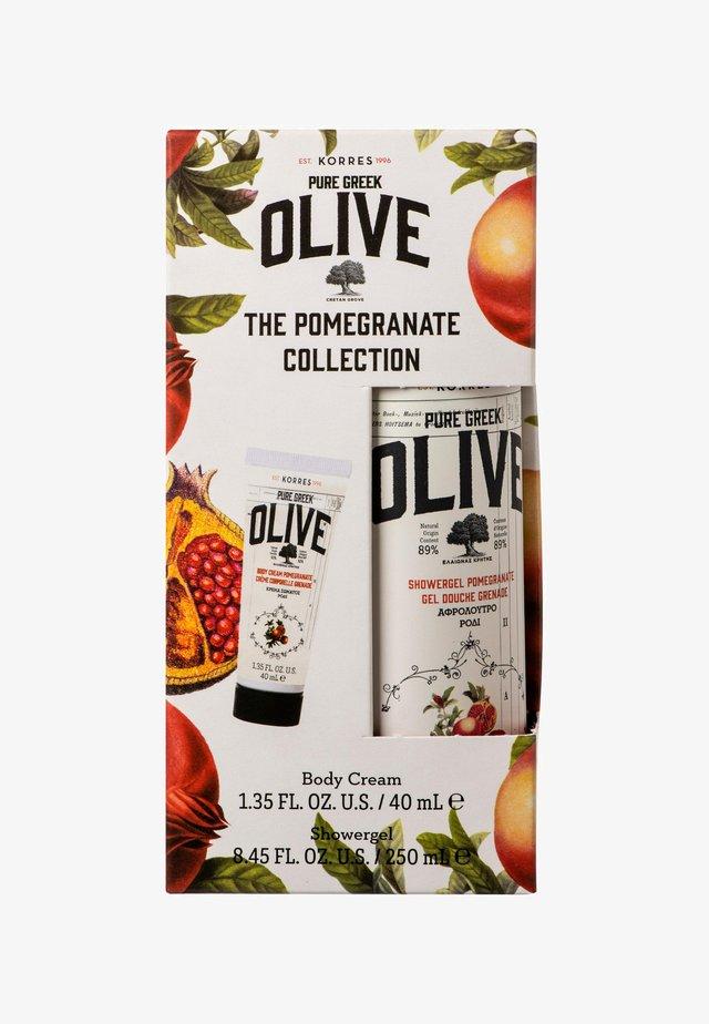 THE OLIVE & POMEGRANATE COLLECTION - Kit bagno e corpo - -