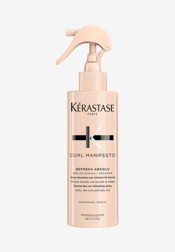 CURL MANIFESTO REFRESH ABSOLUT - Haarpflege - -
