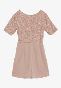 Lace & Beads Petite - CLARA PLAYSUIT - Jumpsuit - mink - 1