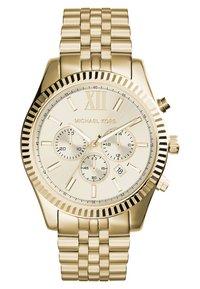 Michael Kors - LEXINGTON - Chronograph watch - gold - 0