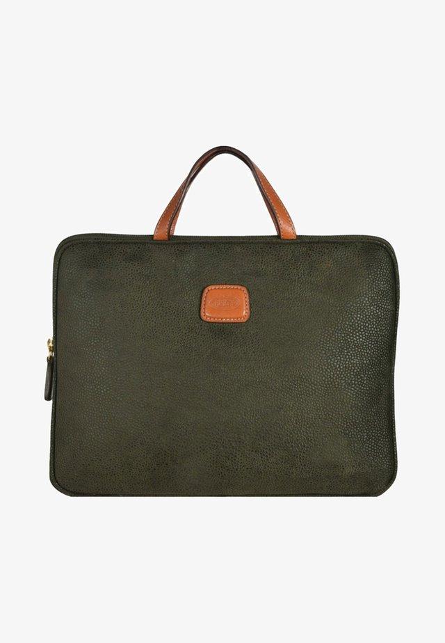 Briefcase - olive