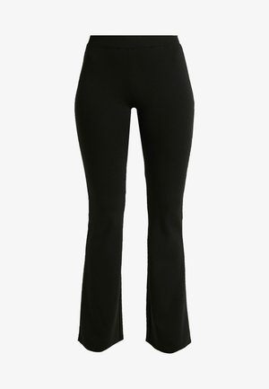 Flared Jeans - black