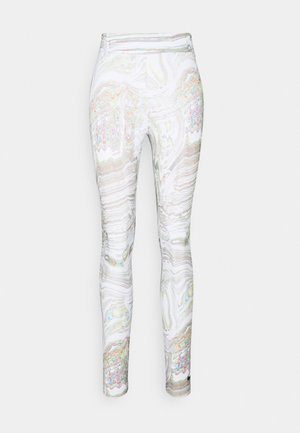 Leggings - Trousers - white