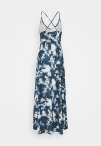 Even&Odd Tall - Maxi dress - blue/white - 1