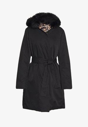 GIACCONE REVERSIBILE - Short coat - nero