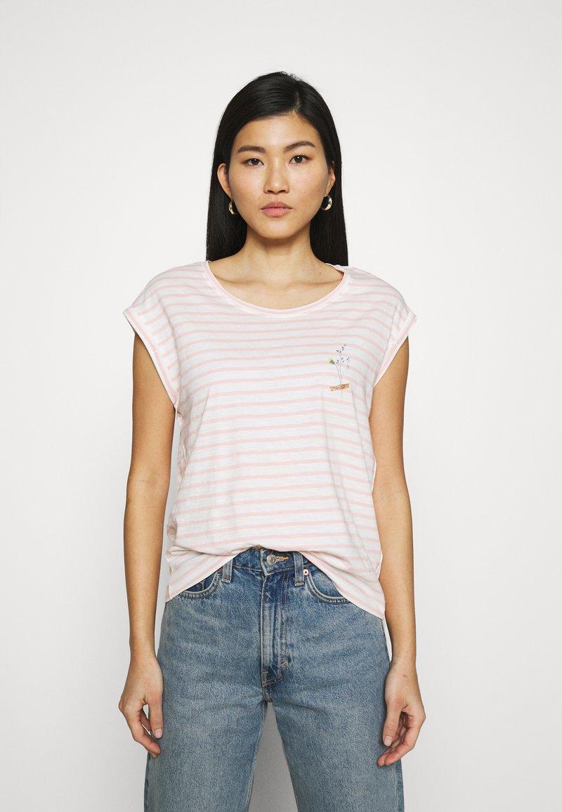 Esprit - TEE - Print T-shirt - nude