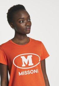 M Missoni - SHORT SLEEVE - T-shirts print - orange - 4