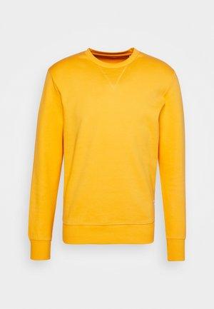 JJEBASIC CREW NECK - Sweatshirt - golden orange