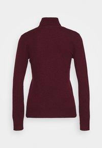 pure cashmere - TURTLENECK - Pullover - burgundy - 1