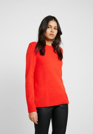 SUPERSOFT CREW SOLIDS - Jumper - popsicle red