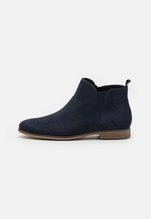 LEATHER - Ankelboots - blue