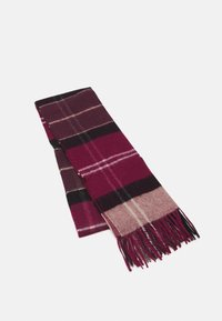 Barbour - INVERNESS TARTAN SCARF UNISEX - Scarf - winter red - 0