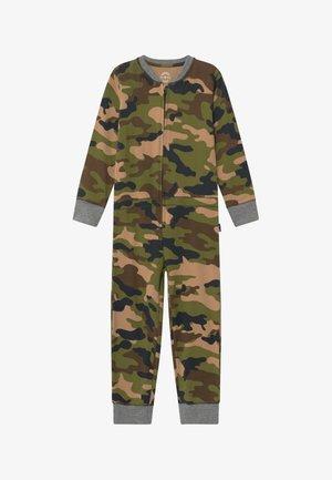 BOYS ONEPIECE - Pyjamaser - army