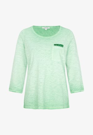 3/4 ARM - Long sleeved top - green